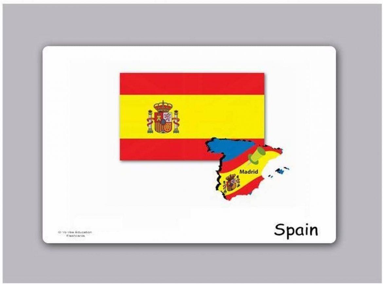 Bandera de españa para imprimir, masquelibros