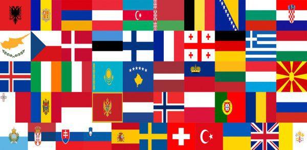 Banderas de europa para imprimir, masquelibros