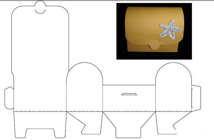 Cajas para imprimir recortar y armar, masquelibros