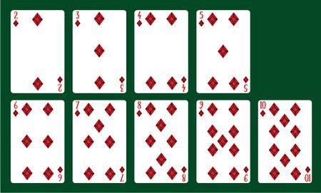 Cartas de poker para imprimir, masquelibros