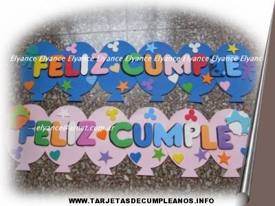 Carteles de cumpleaños para imprimir gratis, masquelibros