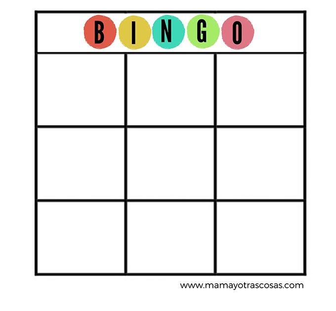 Cartones de bingo para imprimir, masquelibros