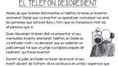 Comprensions lectores en català per imprimir, masquelibros