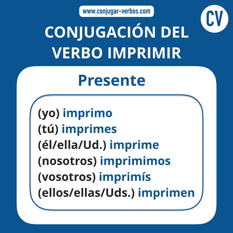 Conjugacion verbo haber para imprimir, masquelibros