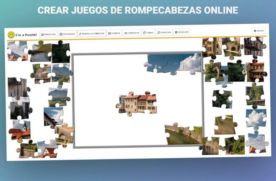 Crear puzzle online para imprimir gratis, masquelibros