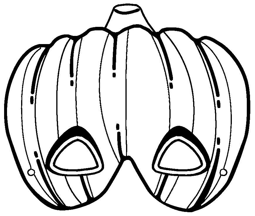 Dibujo calabaza halloween para imprimir, masquelibros