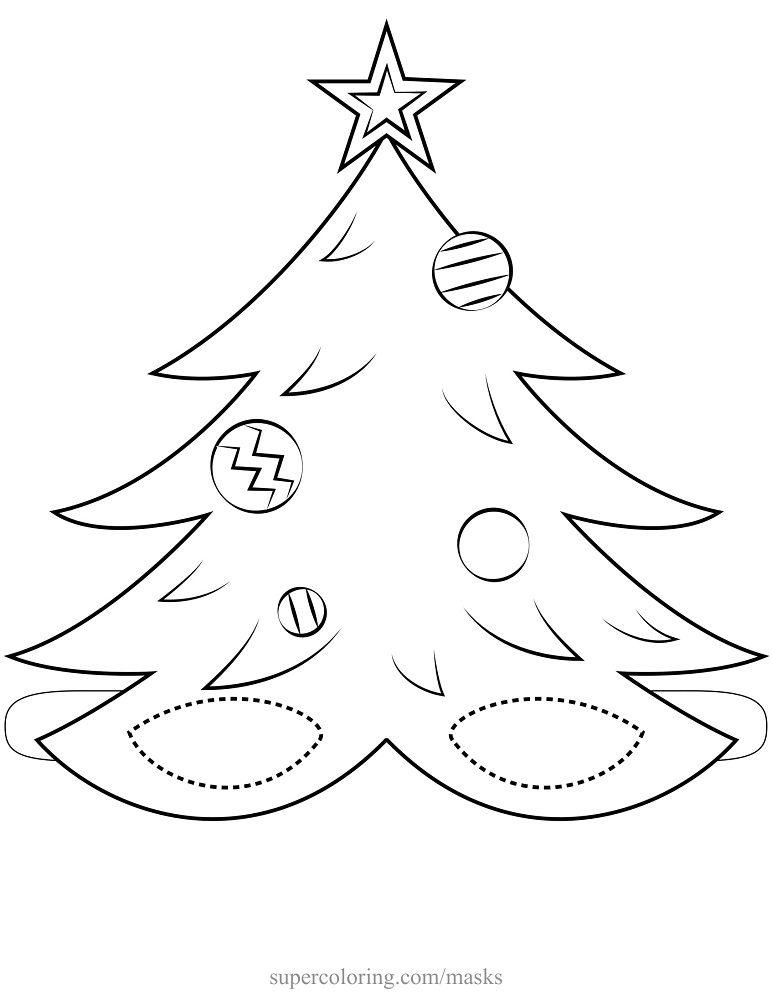 Dibujo de navidad para imprimir, masquelibros