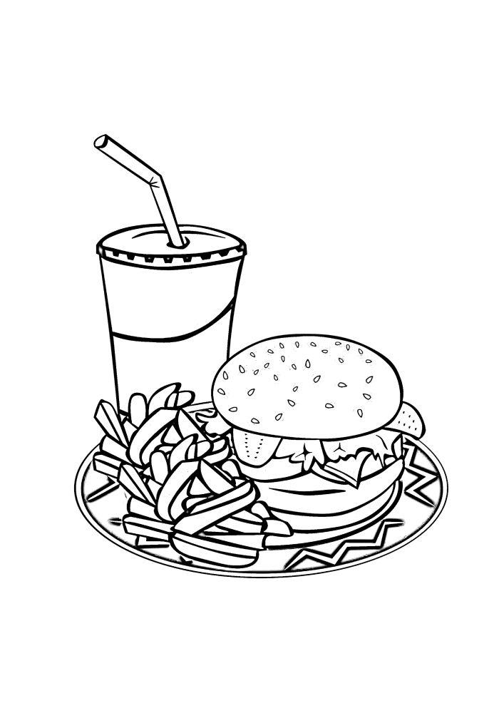 Dibujos de alimentos para imprimir, masquelibros