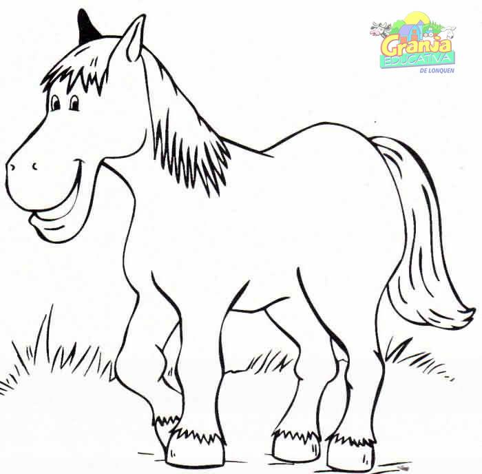 Dibujos de caballos para imprimir, masquelibros
