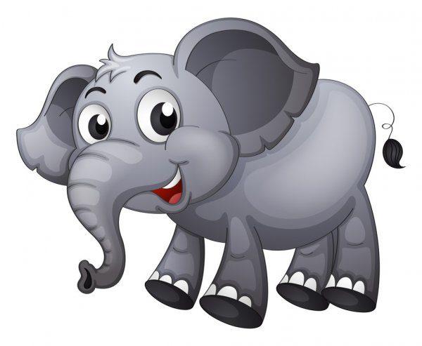 Dibujos de elefantes para imprimir, masquelibros