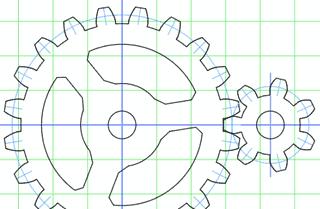 Dibujos de engranajes para imprimir, masquelibros