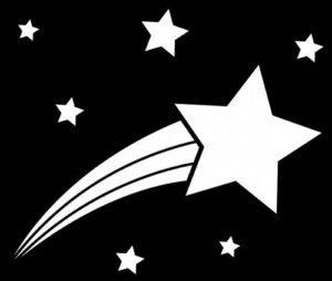 Dibujos de estrellas para imprimir, masquelibros