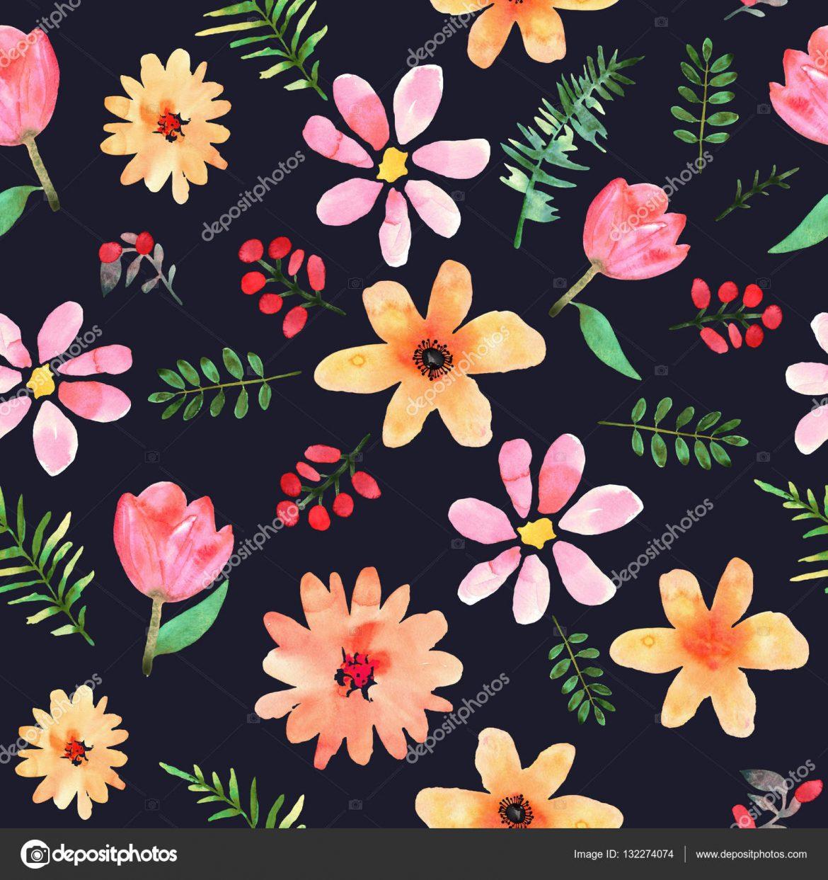 Dibujos de flores grandes para imprimir, masquelibros