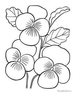 Dibujos de flores para imprimir, masquelibros