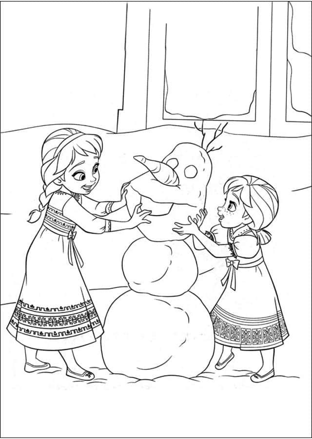 Dibujos de frozen para imprimir, masquelibros