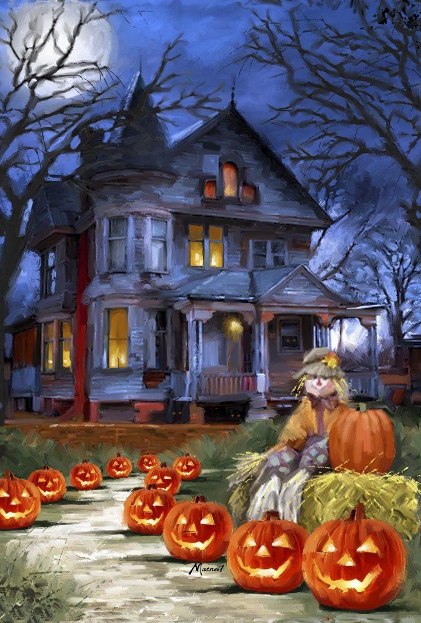 Dibujos de halloween para imprimir, masquelibros