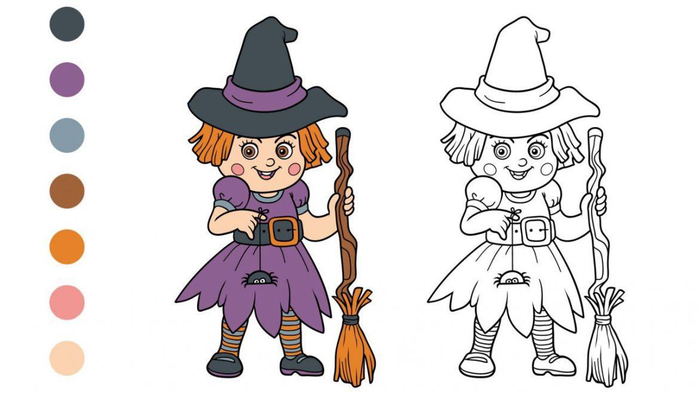 Dibujos de halloween para imprimir tamaño folio, masquelibros