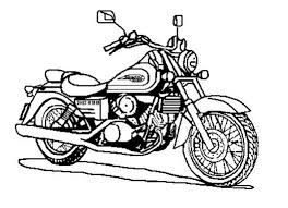 Dibujos de motos para imprimir, masquelibros