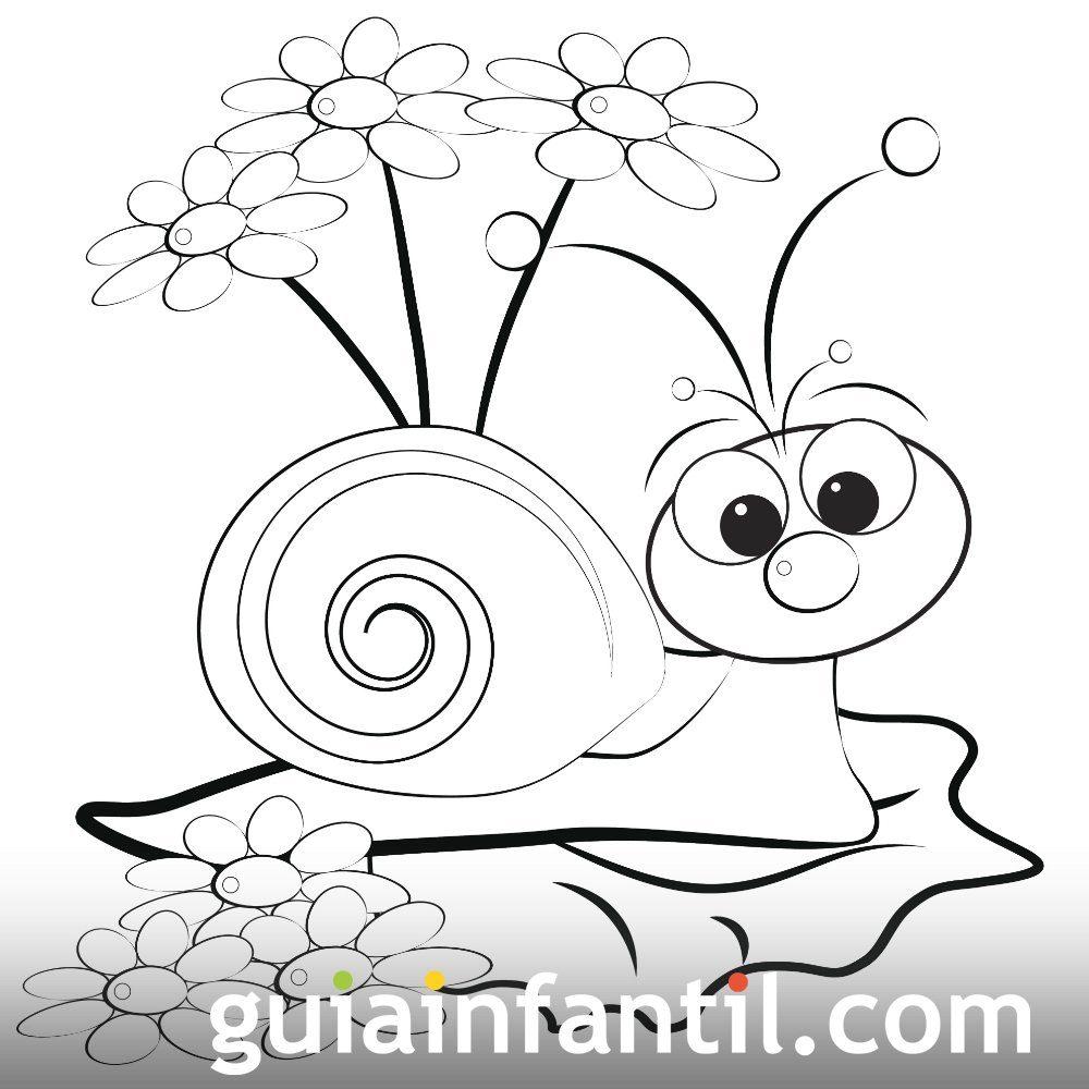 Dibujos de primavera para imprimir y colorear, masquelibros