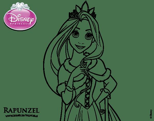 Dibujos de rapunzel para imprimir, masquelibros