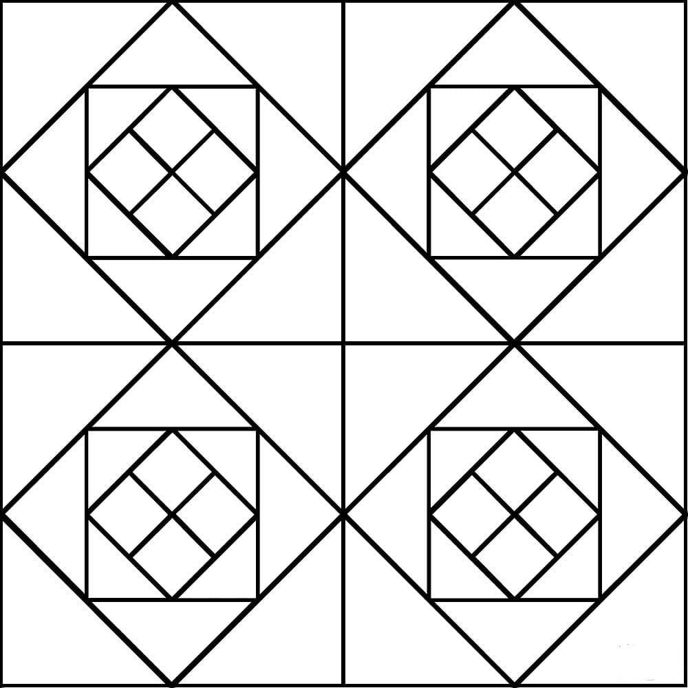 Dibujos de simetria para imprimir, masquelibros