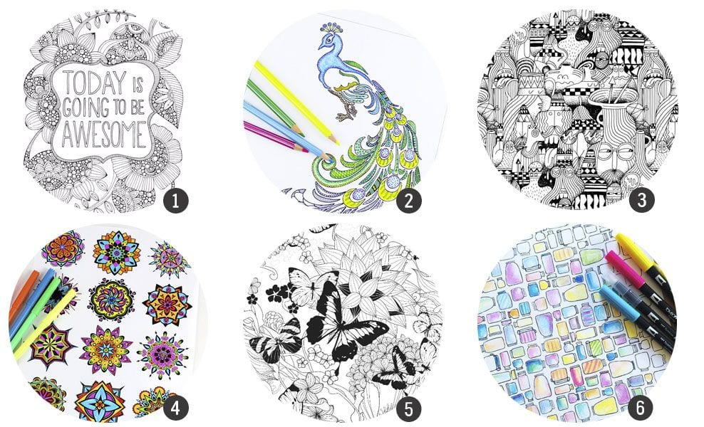 Dibujos para colorear i imprimir, masquelibros