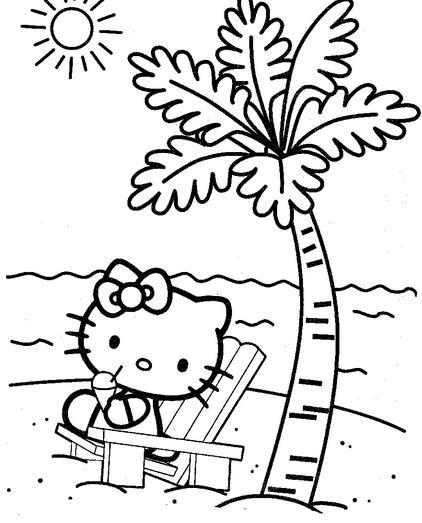 Dibujos para imprimir de hello kitty, masquelibros