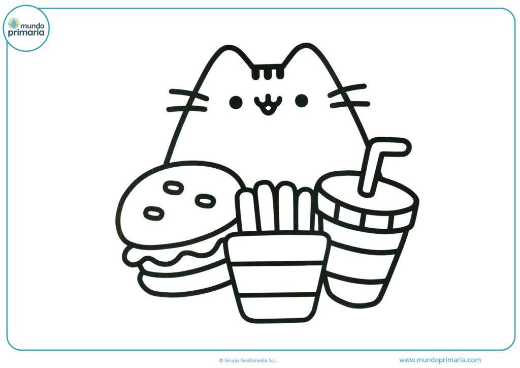 Dibujos para imprimir de unicornios kawaii, masquelibros