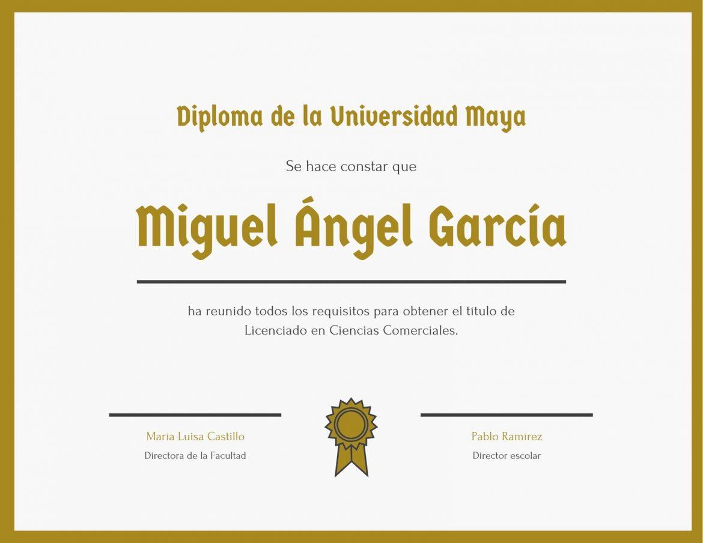 Diplomas para editar e imprimir gratis, masquelibros