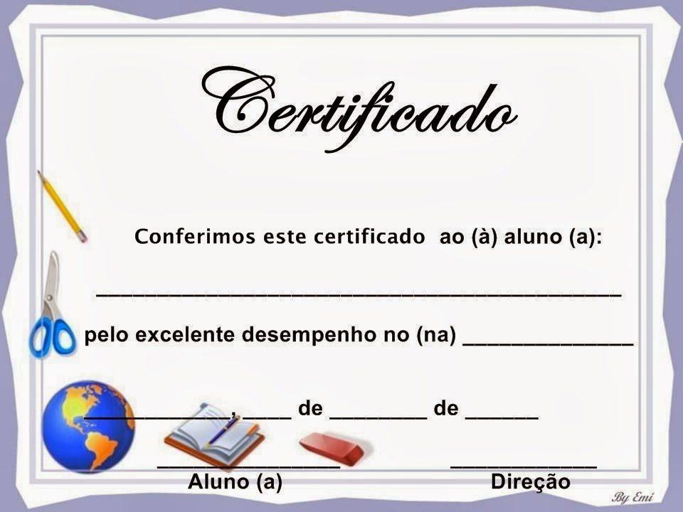 Diplomas para rellenar e imprimir, masquelibros