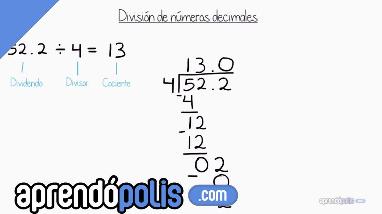 Division de numeros decimales ejercicios para imprimir, masquelibros