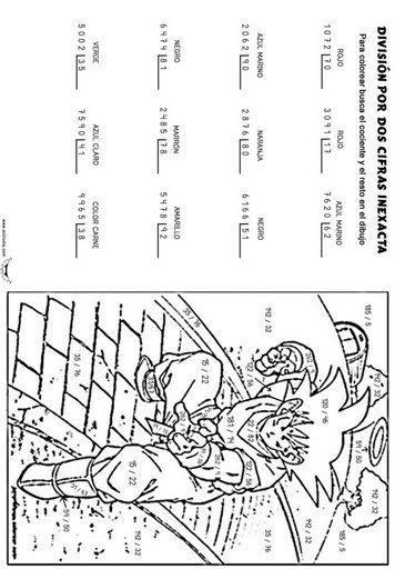 Divisiones de dos cifras para imprimir, masquelibros