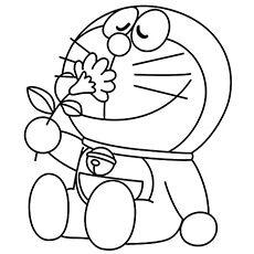 Doraemon para colorear e imprimir, masquelibros