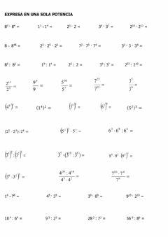 Ejercicios de matematicas 3 eso para imprimir, masquelibros