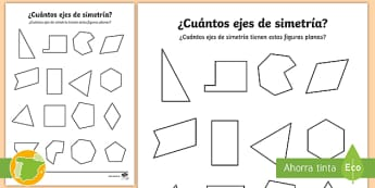 Ejercicios de simetria y traslacion 5o primaria para imprimir, masquelibros