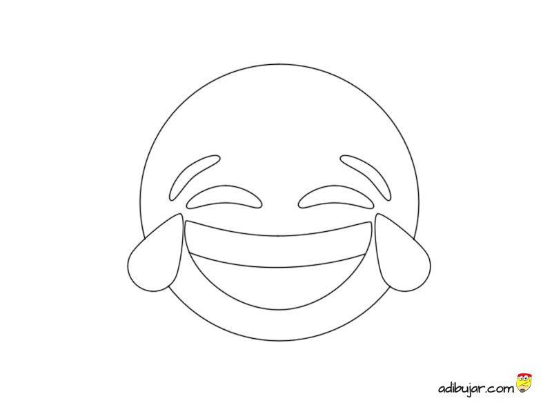 Emojis para colorear e imprimir, masquelibros