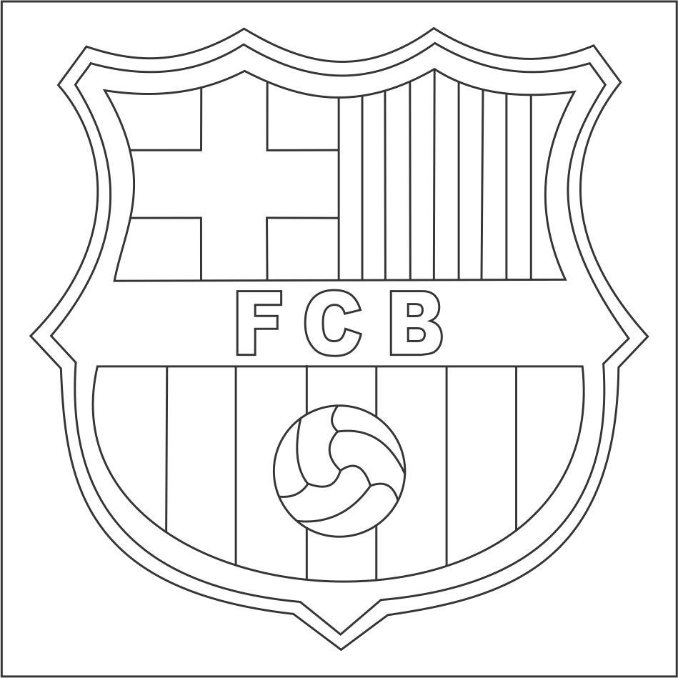 Escudo del barcelona para imprimir, masquelibros