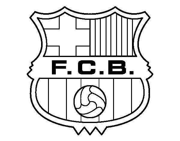 Escudos de futbol para imprimir, masquelibros
