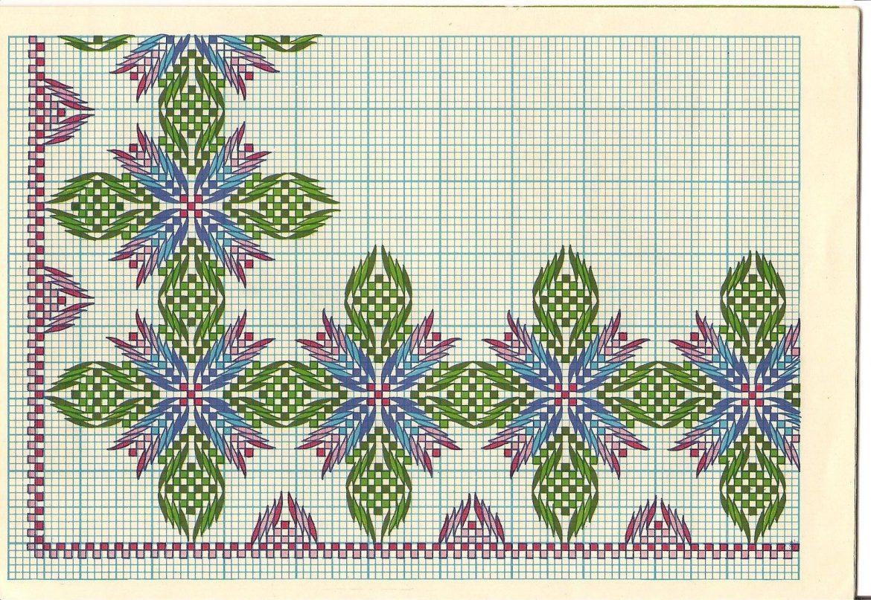 Esquemas de punto yugoslavo para imprimir, masquelibros