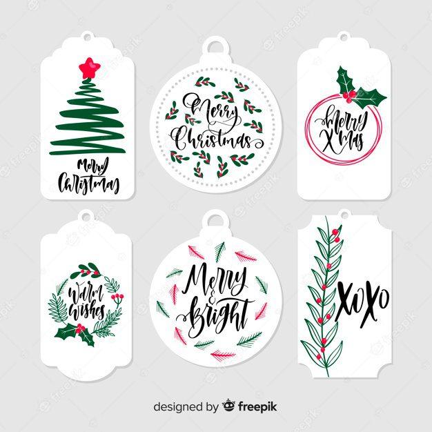 Etiquetas de navidad para imprimir, masquelibros