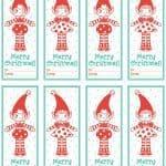 Etiquetas navidad para imprimir gratis, masquelibros