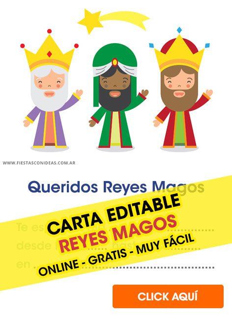 Etiquetas reyes magos para imprimir gratis, masquelibros