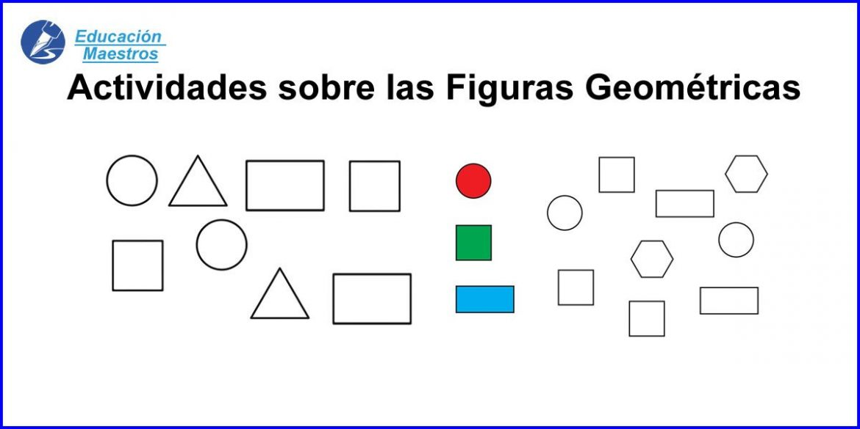 Fichas de figuras geometricas para imprimir, masquelibros
