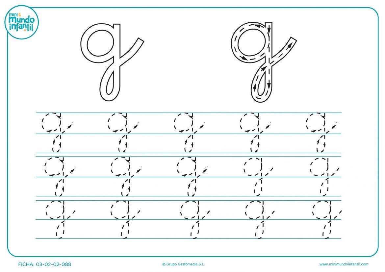Fichas letras minusculas para imprimir, masquelibros