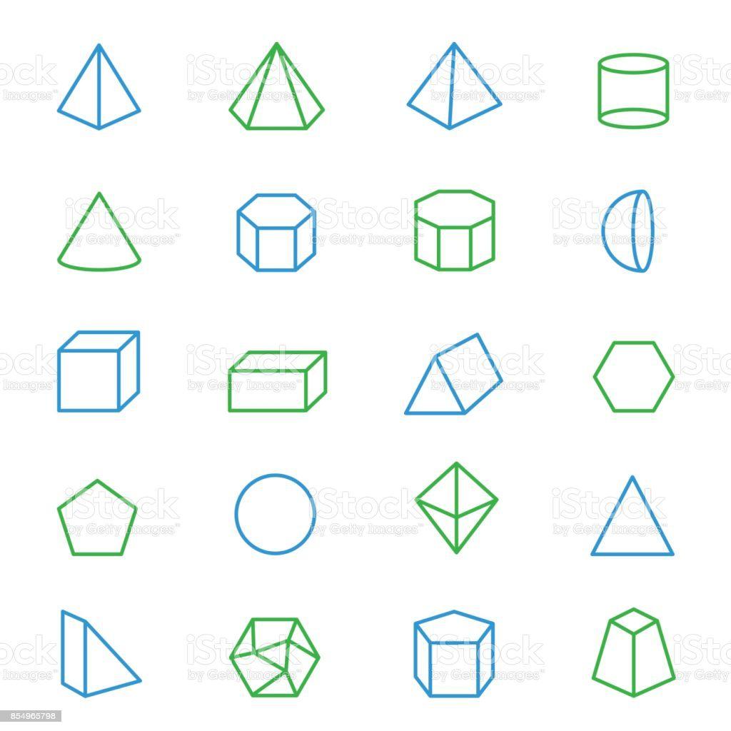 Figuras geometricas 3d para imprimir, masquelibros