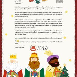 Firma de los reyes magos para imprimir, masquelibros