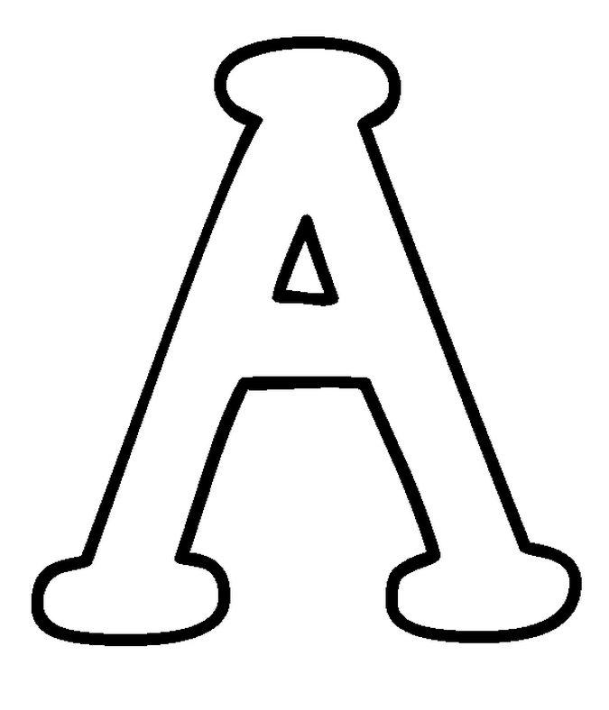Imagenes de letras para imprimir, masquelibros