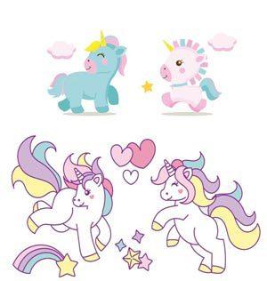 Imagenes de unicornios para imprimir, masquelibros