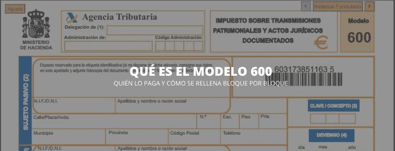 Impreso 600 comunidad de madrid, masquelibros