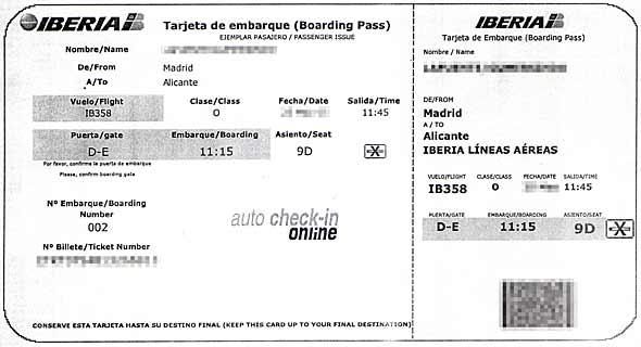 Imprimir tarjeta de embarque air europa, masquelibros